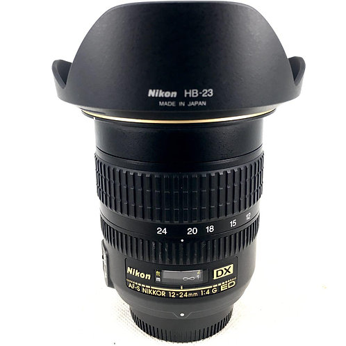 Nikon AFS 12-24mm F4 G DX SWM ED IF Aspherical
