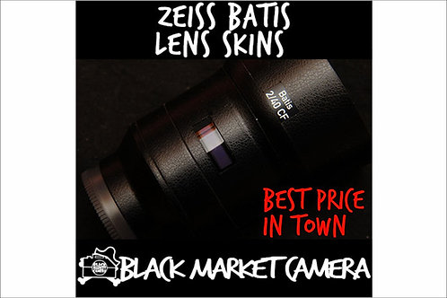 Lenses Skins for ZEISS Batis 18mm/25mm/40mm/85mm