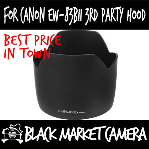 For Canon EW-83BII 3rd Party Lens Hood