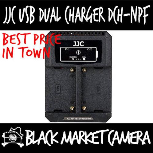 JJC DCH-NPF USB Charger for Sony NP-F550/F750/F970/FM50/FM500H