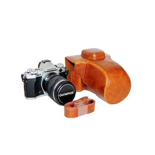 Leather Half Case - Olympus OMD-EM5 II