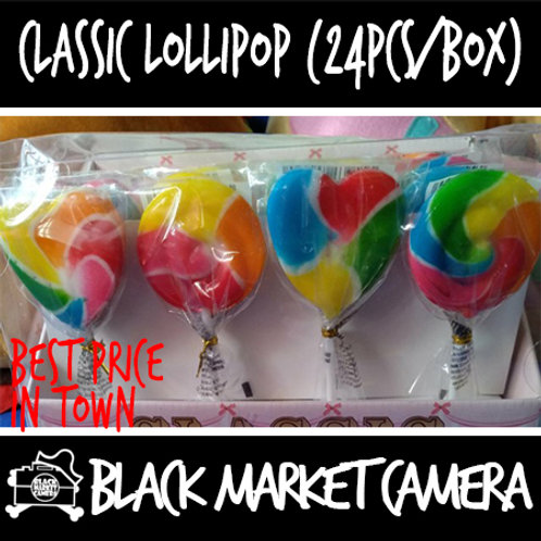 Classic lollipops (Bulk Quantity, 24Pcs/Box)