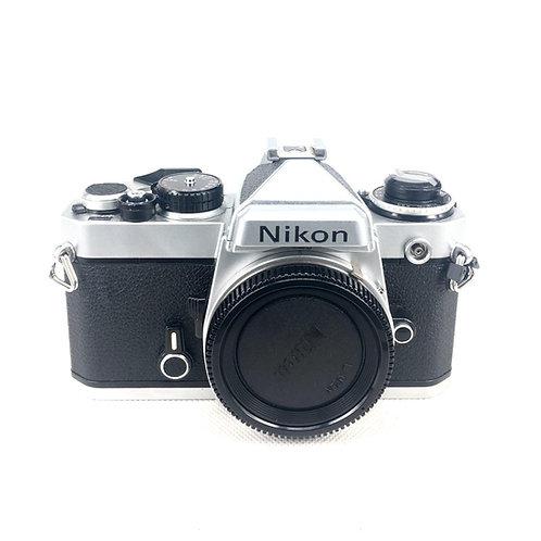 Nikon FE Film SLR (Silver) (used)