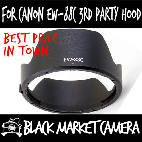 For Canon EW-88C 3rd Party Lens Hood