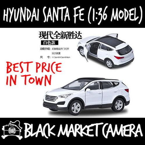 Welly 1:36 Hyundai Santa Fe SUV 1:36 Diecast Car Model