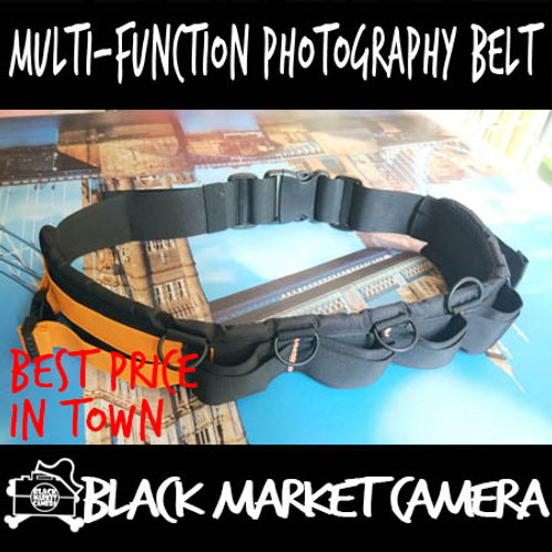Multi-Function Photography Belt