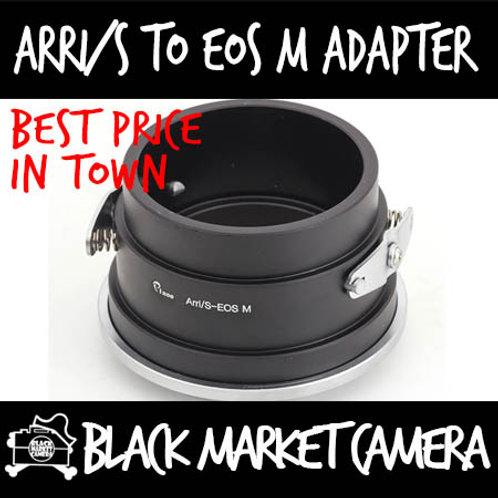 ARRi/S Lens to Canon EOS M Camera