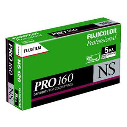 Fujicolor PRO 160 NS Colour Negative Film (120) (1 roll)