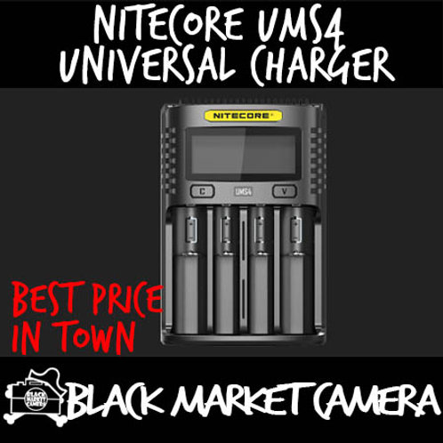 Nitecore UMS4 Intelligent USB Four-Slot Superb Universal Charger