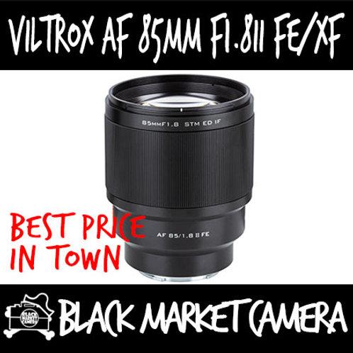Viltrox AF 85mm F1.8 II FE Lens Sony FE Mount