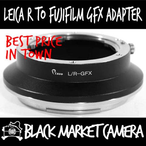 Leica R Lens to Fujifilm GFX Camera