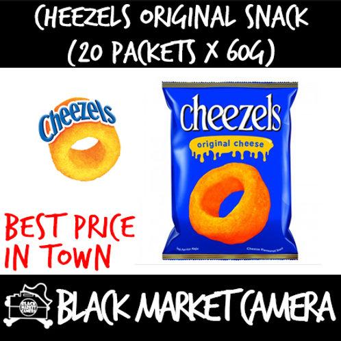 Cheezels Original (Bulk Quantity, 20 packets x 60g)
