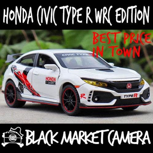 JY 1:32 Honda Civic Type R WRC Edition Diecast Car Model