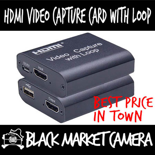 HDMI 1080p USB Video Capture Card With Loop Output
