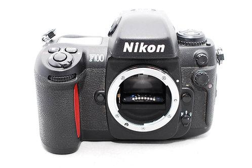 Nikon F100 AF Professional Film SLR with MF-29 Databack (used)