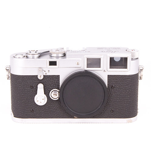 *SOLD* Leica M3 Double Stroke (Chrome) Film Rangefinder (used)