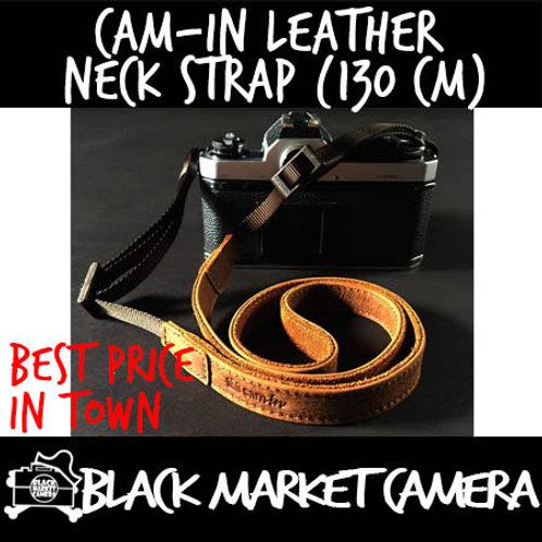 Cam-in Leather Neck Strap (130 cm)