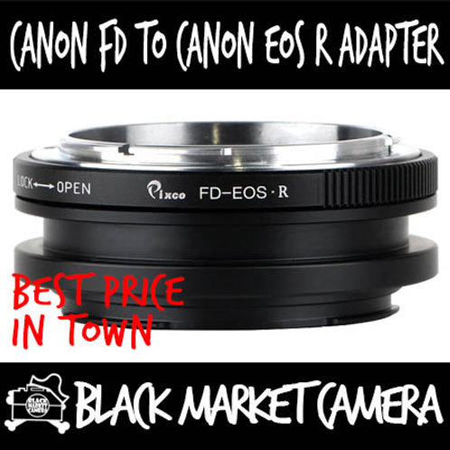 Canon FD to EOS R Mount Lens Adapter
