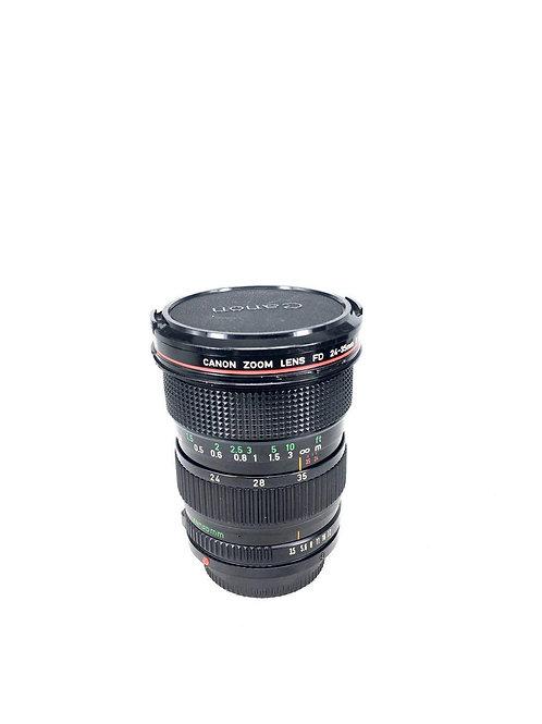 Canon New FD 24-35mm f3.5