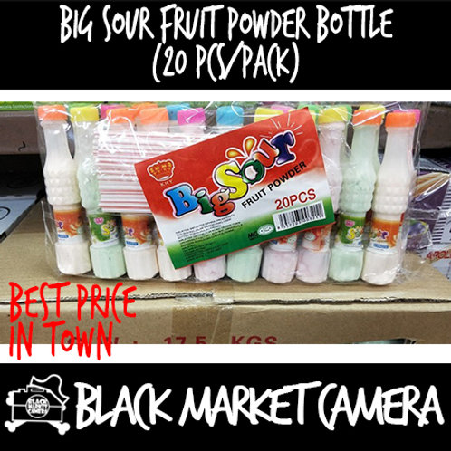 Big Sour Fruit Powder Bottle (Bulk Quantity, 20pcs/Pack)