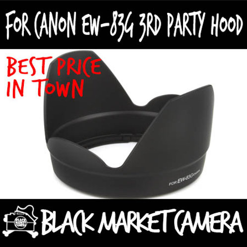 For Canon EW-83G 3rd Party Lens Hood