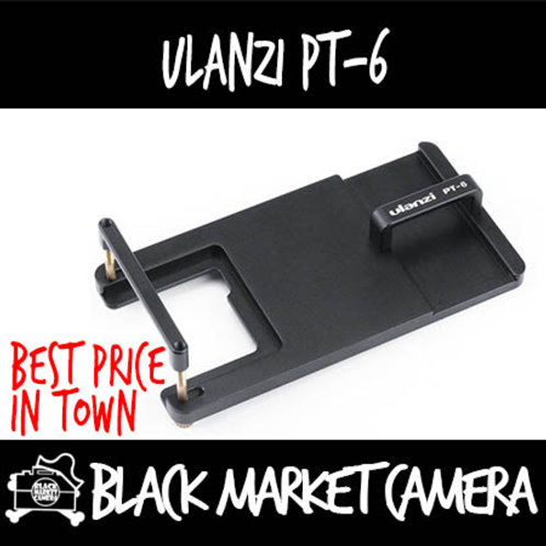 Ulanzi PT-6 Smartphone Gimbal Adapter for GoPro with Wireless Go Holder Plate
