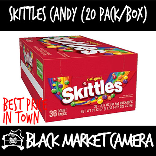 Skittles Candy (Bulk Quantity, 20Packs/Box) | Avail in Original and Sour