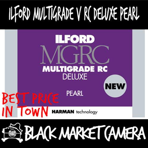 """Ilford Multigrade V RC Deluxe Pearl (5"""" x 7"""") 100pcs"""