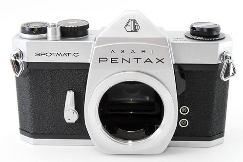 Pentax Asahi Spotmatic SP Chrome/Silver M42 Mount Film SLR (Used)