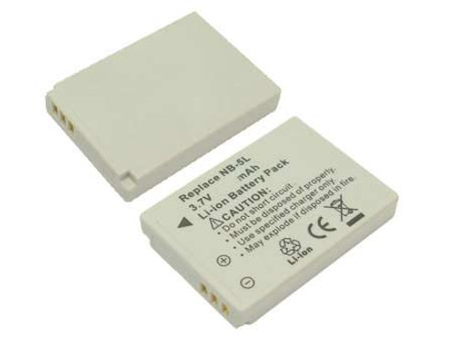 OEM NB-5L Battery & Charger for Canon