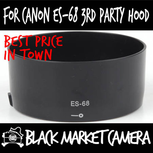 For Canon ES-68 3rd Party Lens Hood