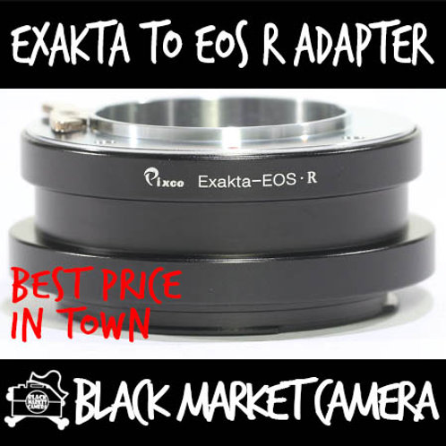 Exakta to EOS R Mount Lens Adapter