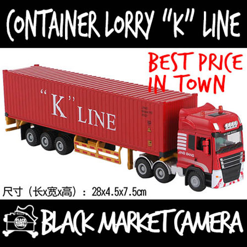 JB 1:50 Container Lorry K Line Diecast Model