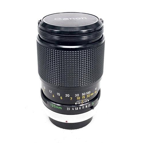 Canon FD 135mm F2.5 SC (used)