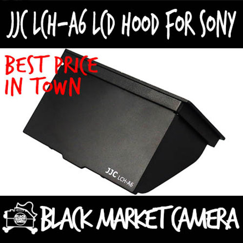 JJC LCH-A6 LCD Screen Hood for A6000 Series