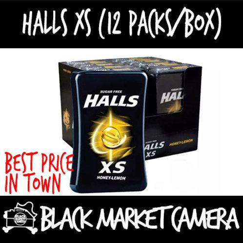 Halls XS Mint (Bulk Quantity, Box of 12)