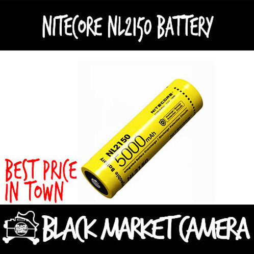 Nitecore NL2150 5000mAH Rechargeable Battery