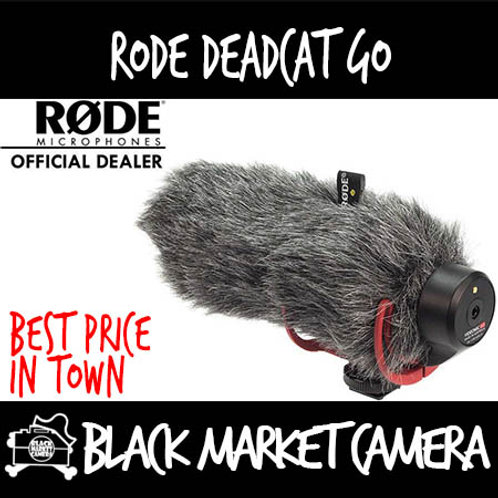 Rode Deadcat Furry Mic Windshield for Videomic GO