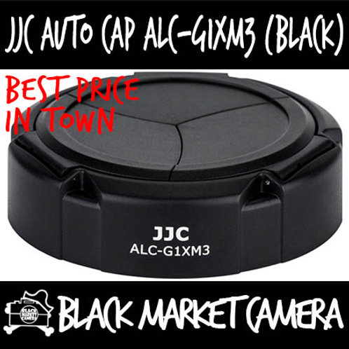 JJC ALC-G1XM3 Auto Cap (Black) For Canon PowerShot G1X Mark III