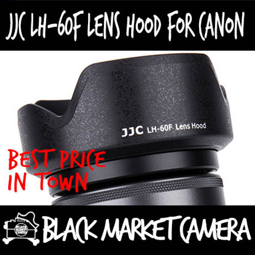 JJC LH-60F Hood for Canon EF-M 18-150mm F3.5-6.3 IS STM (EW-60F)