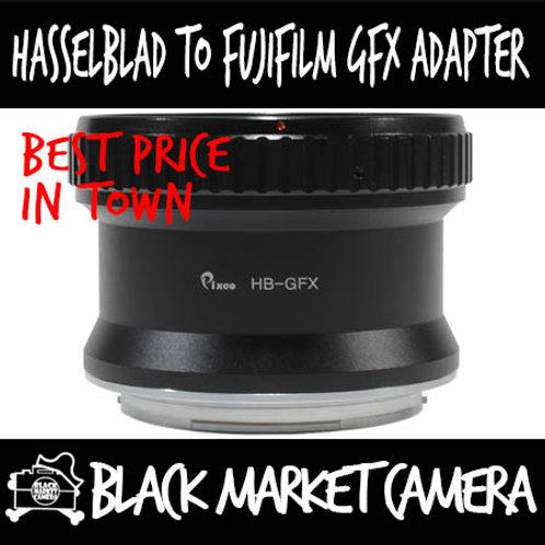 Hasselblad V Lens to Fujifilm GFX Camera