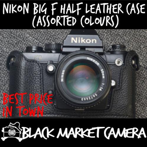 Funper Nikon Big F Half Leather Case