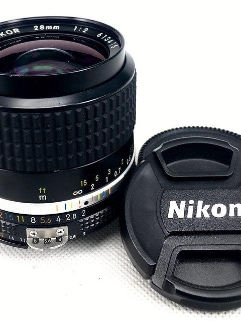 Nikon 28mm f2 Ais