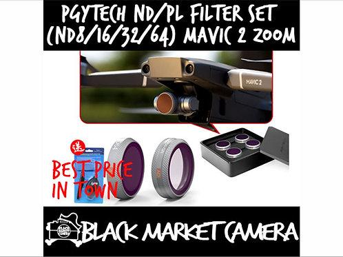 PGYTech ND/ND-PL Filter Set (ND8/16/32/64) for DJI Mavic 2 Zoom (Set of 4)