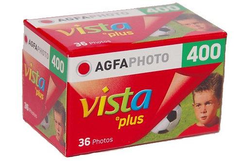 Agfa Vista Film 400 36 Exp Colour Negative Film (135)