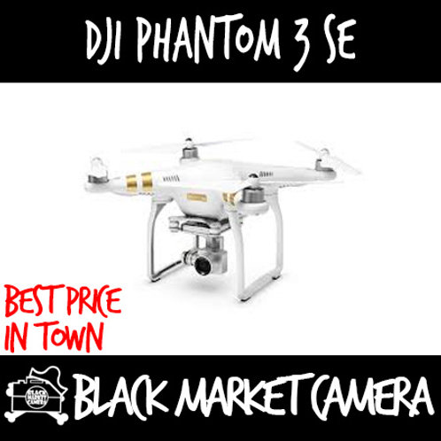 DJI Phantom 3 SE Drone (4K Video 4KM Range)