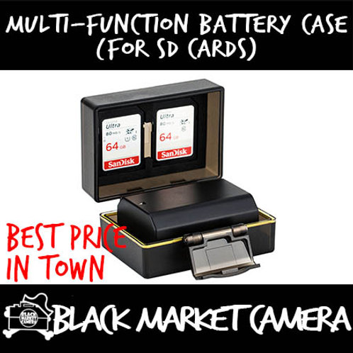 JJC Multi-Function Battery Case (for SD Cards)