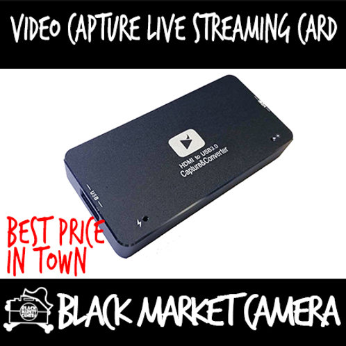 HDMI in to USB 3.0 Out converter/Video capture live streaming card