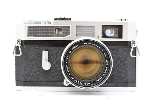 Canon 7 L39 Film Rangefinder Chrome + 50mm F1.4 (used)