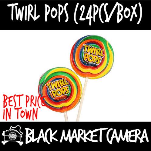 Twirl Pops (Bulk Quantity, 24pcs/Box)